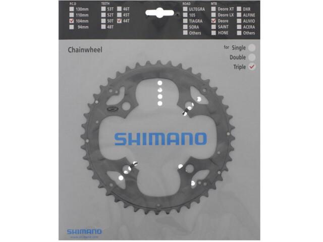 Shimano Deore FC-M590 Plateau pour KSR 9 vitesses, grey